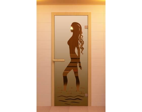 """Дверь для сауны и бани, серия """"Наоми"""""""
