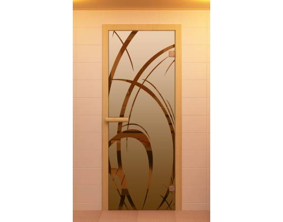 """Дверь для сауны и бани """"Арабика"""""""