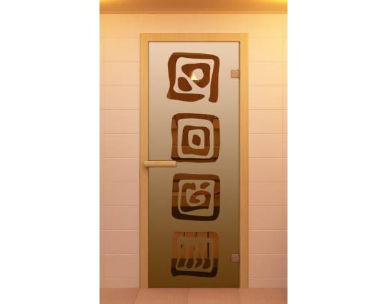 """Дверь для сауны и бани """"Оазис"""""""