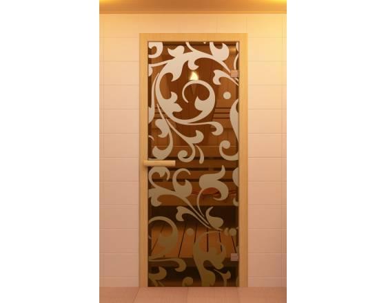 """Дверь для сауны и бани """"Петергоф"""""""