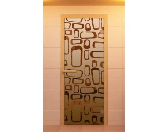 """Дверь для сауны и бани """"Поток"""""""
