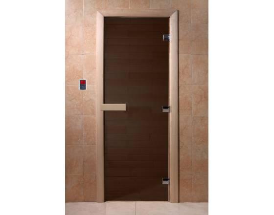 """Двери DoorWood 700x1800 """"Теплая ночь"""" (бронза матовая)"""