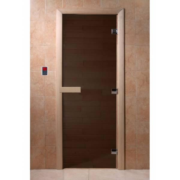 Двери DoorWood 700x1900 Черный жемчуг