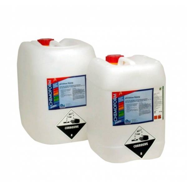 CHEMOFORM pH-Минус жидкий 25 кг