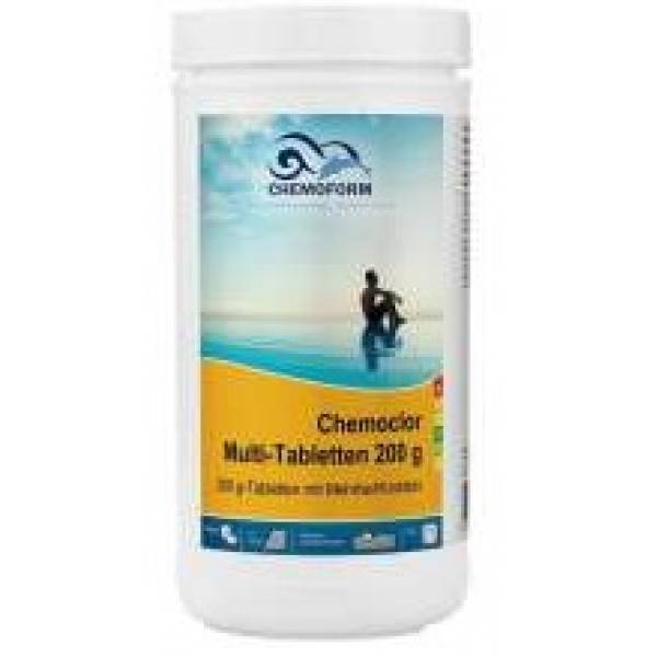 Хлорные таблетки CHEMOFORM Мультитаблетки 200г 1кг