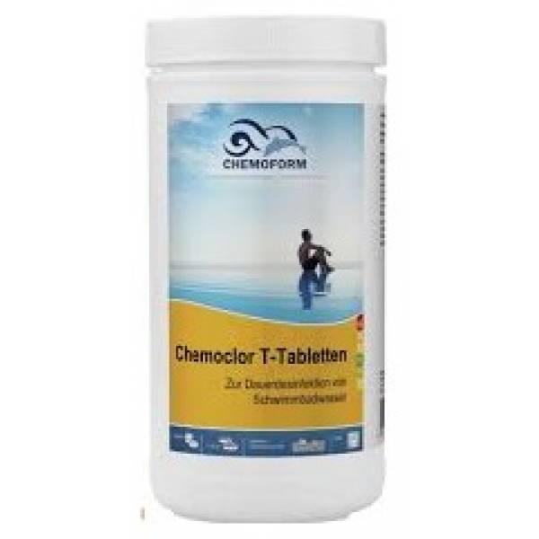 Хлорные таблетки CHEMOFORM Кемохлор 20г 1кг