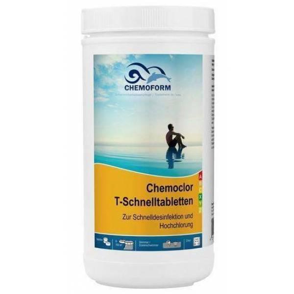 Хлорный препарат CHEMOFORM Кемохлор-Т-быстрорастворимые таблетки 1кг