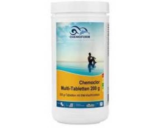 Хлорные таблетки CHEMOFORM Мультитаблетки 20г 1кг