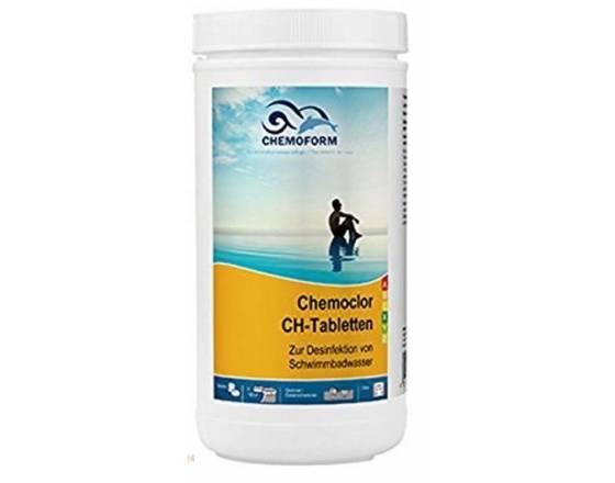 Хлорный препарат CHEMOFORM Кемохлор - СН в таблетках 1кг