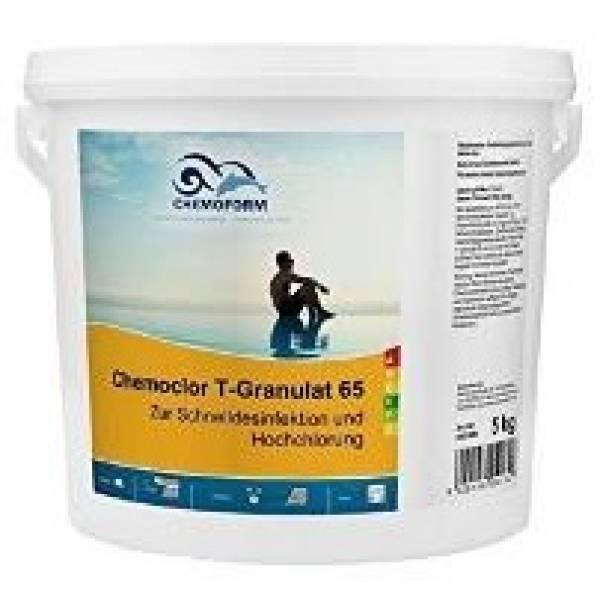 Хлорный препарат CHEMOFORM Кемохлор T-65 гранулированный 5кг