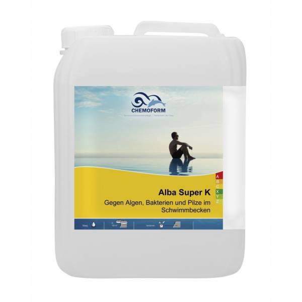 Альгицид CHEMOFORM Альба Супер K 5л (против грибков, бактерий и водорослей)