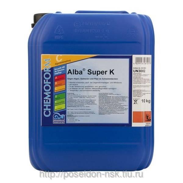 Альгицид CHEMOFORM Альба Супер K 10л