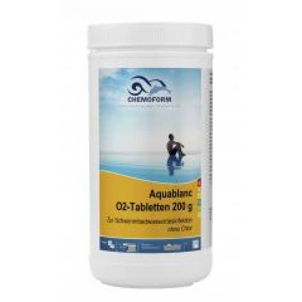 Активный кислород CHEMOFORM Аквабланк О2 в таблетках 200 гр 1кг