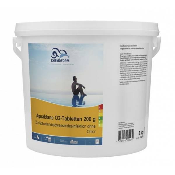 Активный кислород CHEMOFORM Аквабланк О2 в таблетках 200г 5 кг