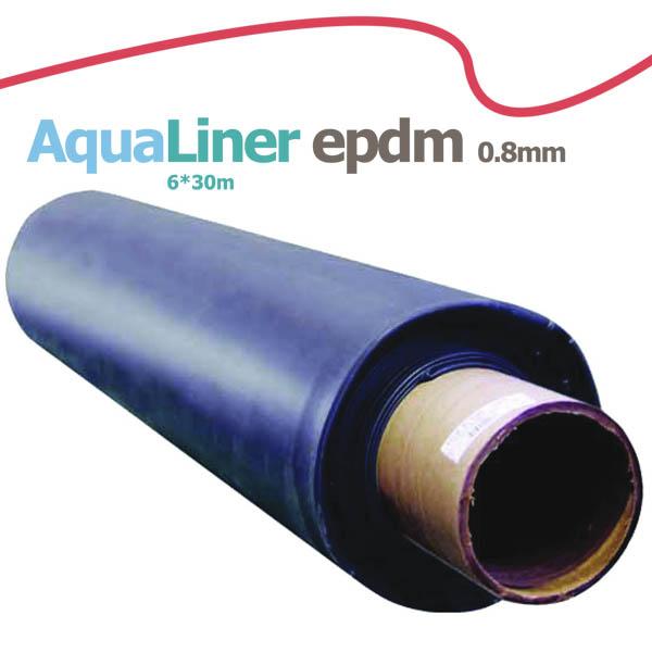 Пленка для пруда AquaLiner (Индия) 0.8mm  6mx30m                       ЦЕНА ЗА КВ.М.