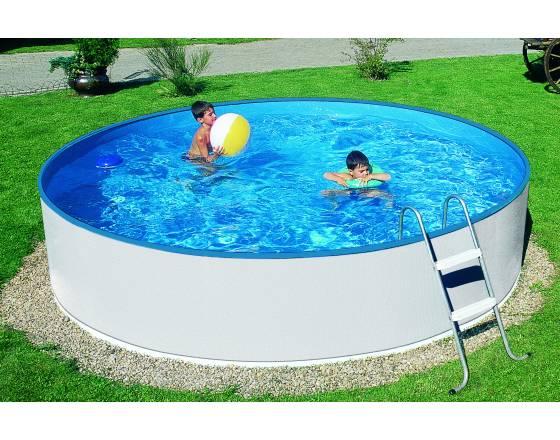 Каркасный бассейн Azuro 240 Mountfield (2.4мХ0.9м) с чашей (Код: 3EXB0147)