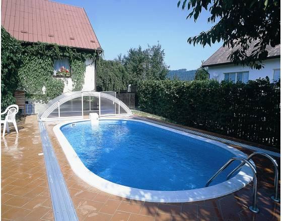 Каркасный бассейн овальный Ibiza DL 0-120 Mountfield