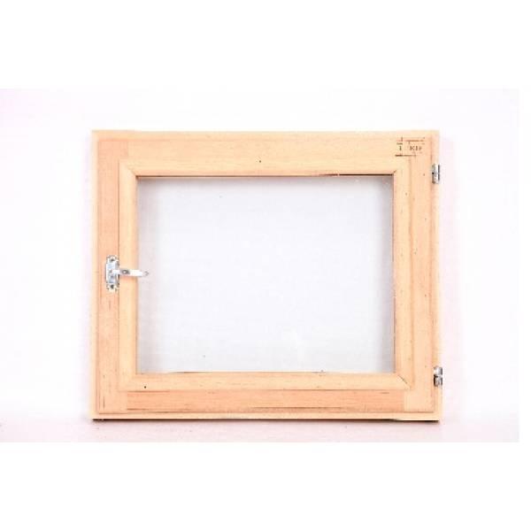 Окно финское стеклопакет бронза 50 на 50 для бани и сауны