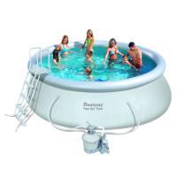 Надувной бассейн Bestway 57242 с песочным фильтром (457х122)