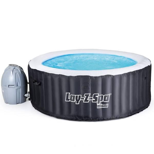 Гидромассажный бассейн Bestway Lay-Z-SPA 54123 Miami (180х66)