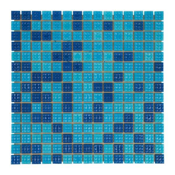 Мозаика стеклянная Aquaviva Jamaika темная C63N