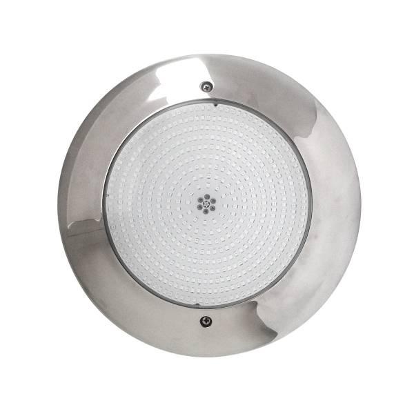 Прожектор светодиодный Aquaviva HT201S 252LED (18 Вт) RGB стальной с накладной рамкой