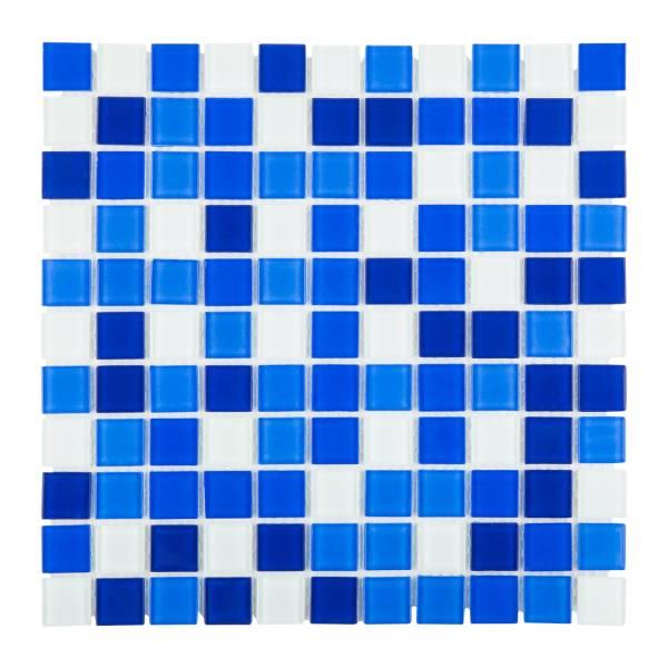 Мозаика стеклянная Aquaviva Cristall Bagama темная