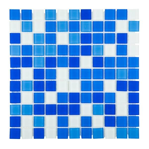 Мозаика стеклянная Aquaviva Cristall Bagama DCM178/304 светлая