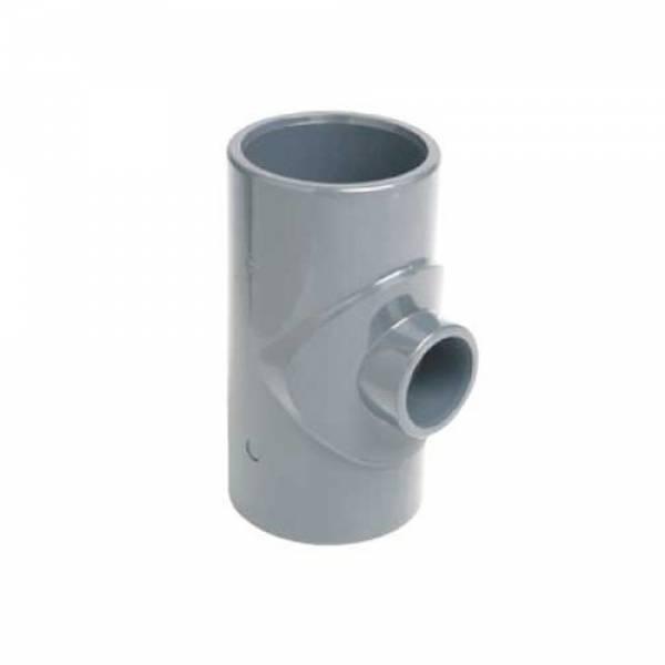 Тройник клеевой 90° редукционный EFFAST d110x75mm (RDRTRD110H)