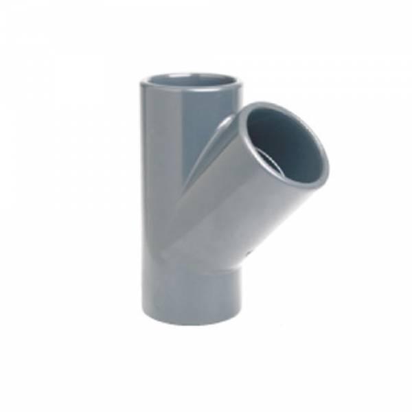 Тройник клеевой 45° EFFAST d40mm (RDRTYD0400)