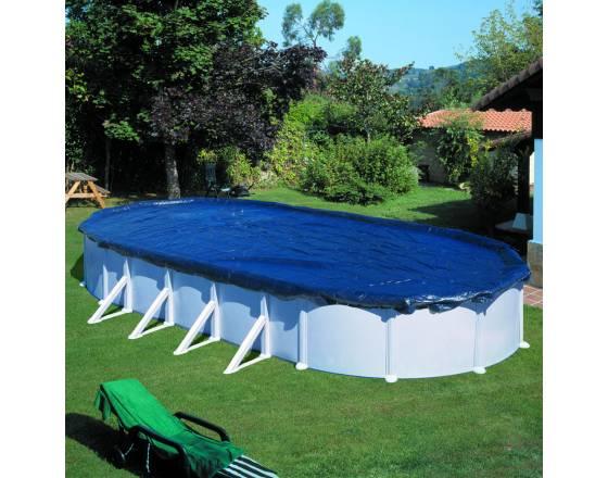 Зимнее покрывало CIPROV611 для овальных бассейнов GRE 6.8х4.6 м (680х460 см)
