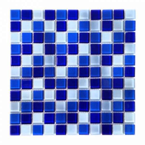 Мозаика стеклянная Aquaviva Сristall Bagama Dark DCM278