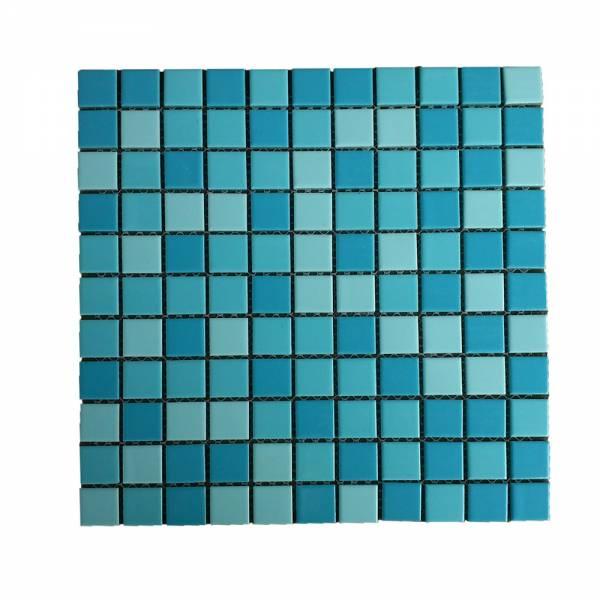 Мозаика керамическая Aquaviva Jamaika синий микс PLA602