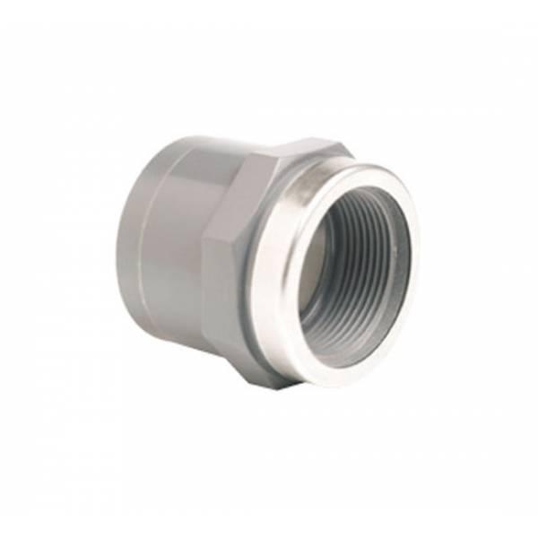 Муфта переходная EFFAST c металлическим кольцом d50x1-1/2 (RGRMAR)