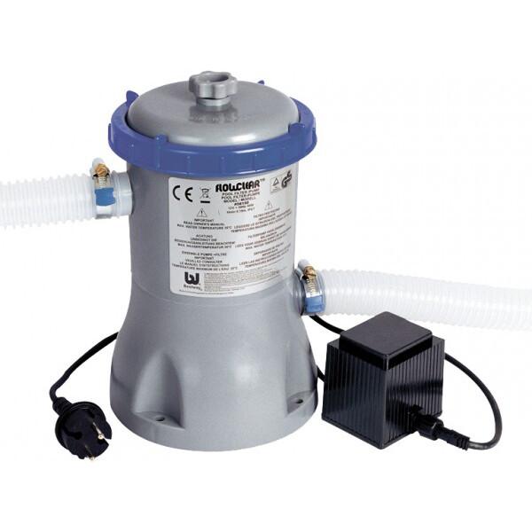 Фильтр-насос Bestway 58386 картриджный (3 м3/ч) для надувных и каркасных бассейнов