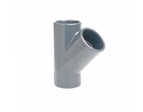 Тройник клеевой 45° EFFAST d90mm (RDRTYD0900)