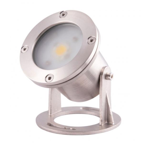 Прожектор LED AquaViva (1led 7W 12V) RGB для подсветки фонтана