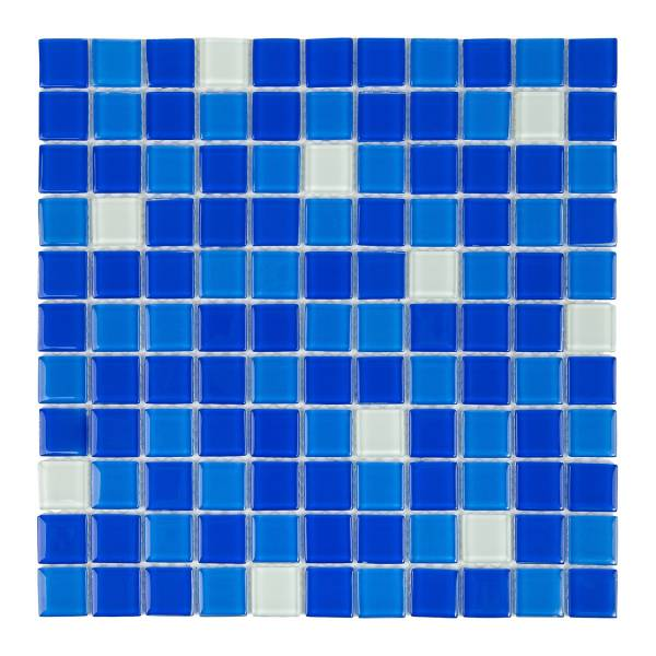 Мозаика стеклянная Aquaviva Cristall Bahama темная SJH2563