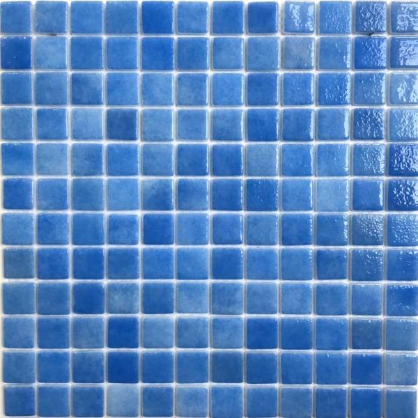 Мозаика стеклянная Aquaviva Antarra Cloudy PG 4651 синяя
