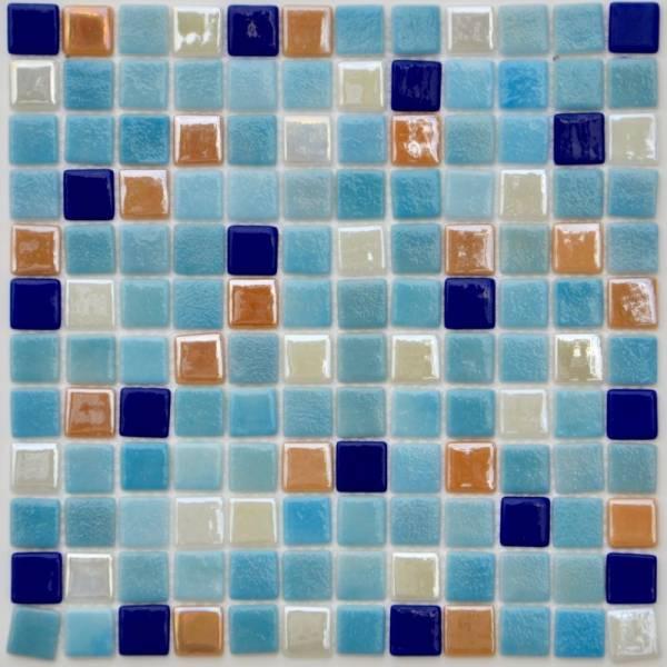 Мозаика стеклянная Aquaviva Antarra MIX 6