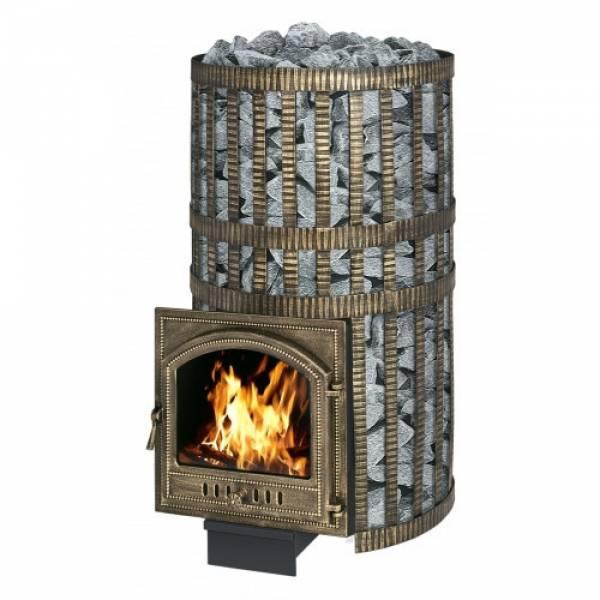 Банная печь-камин Везувий Русский пар Камин (205)