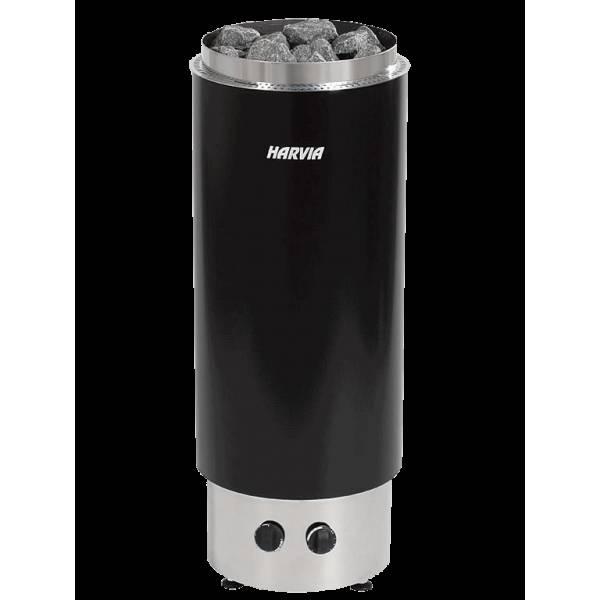 Печь для бани Harvia Cilindro PC90F электрическая, черная