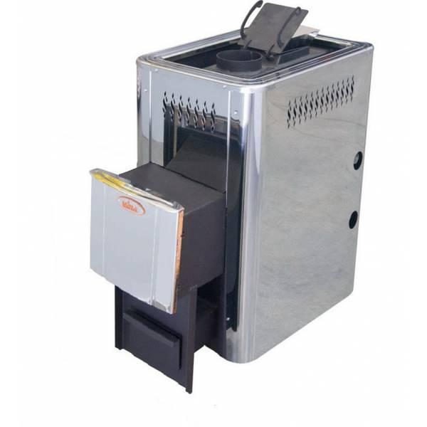 Печь для бани и сауны VIRA-12ПН Пар по Белому (Парогенератор/ нержавеющий кожух)