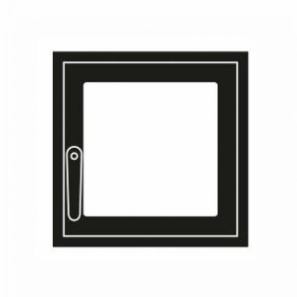 Дверка каминная стандарт М