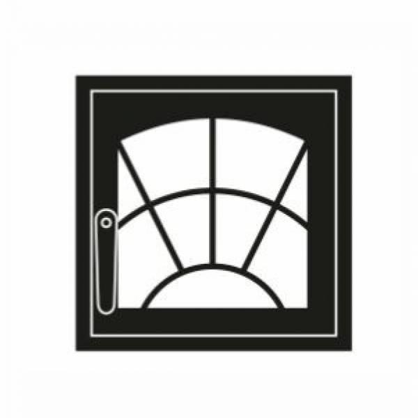 Дверка каминная Арка М