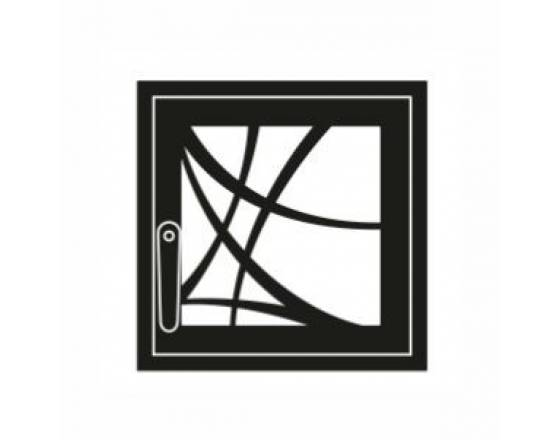 Дверка каминная Арт-Деко M