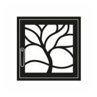 Дверка каминная Флора L