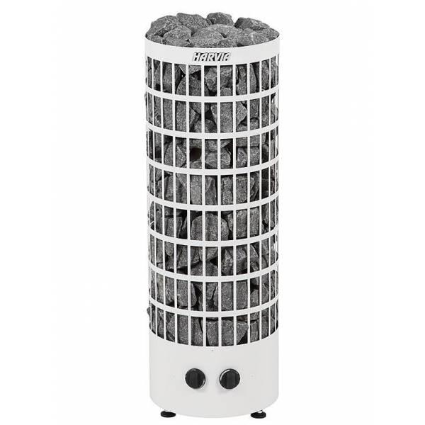 Печь для бани Harvia Cilindro PC70V электрическая, белая