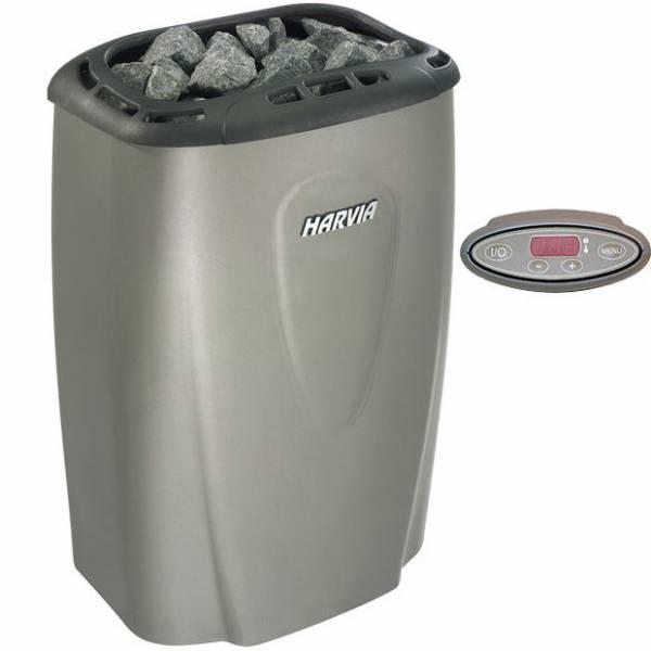 Печь для бани Harvia Moderna V80E-1 Platinum электрическая, пульт в комплекте