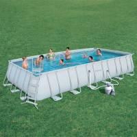 Каркасный прямоугольный бассейн Bestway 56475 (732х366х132) с песочным фильтром